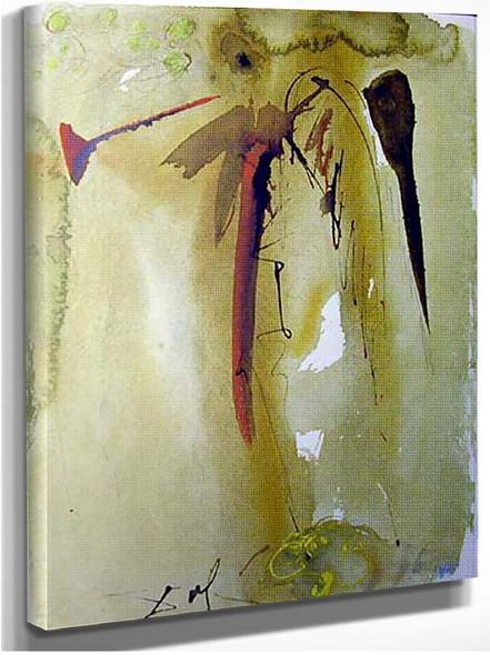 Vox Clamantis 1967 By Salvador Dali