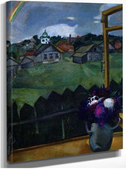 Window Vitebsk 1908 By Marc Chagall