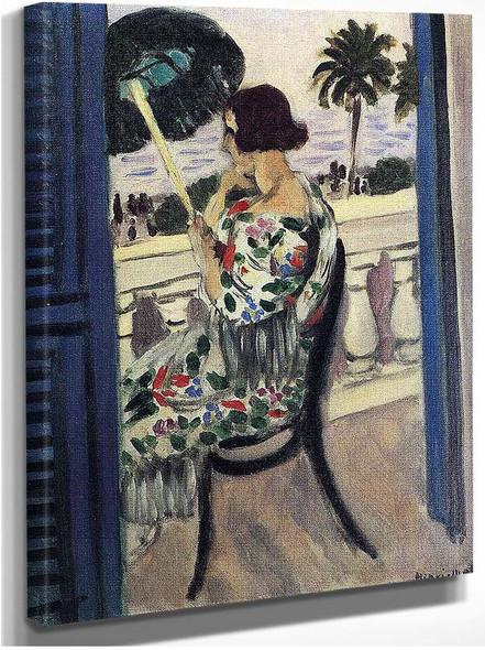 Woman Holding Umbrella 1 By Henri Matisse