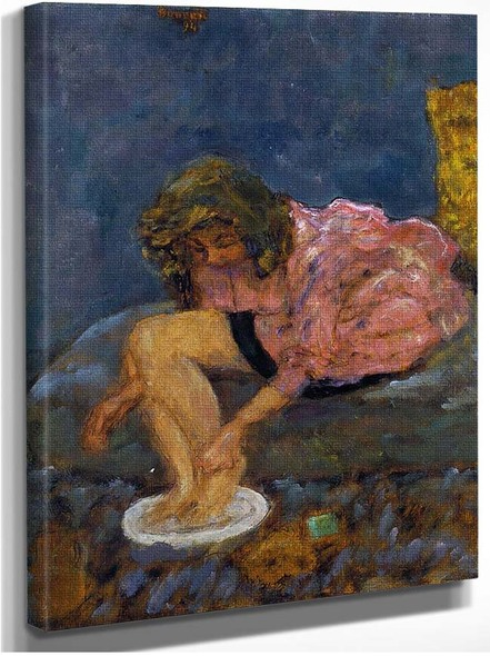 Woman Washing Her Feet 1894 By Pierre Bonnard
