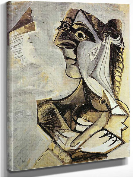 Woman With Braid 1971 By Pablo Picasso