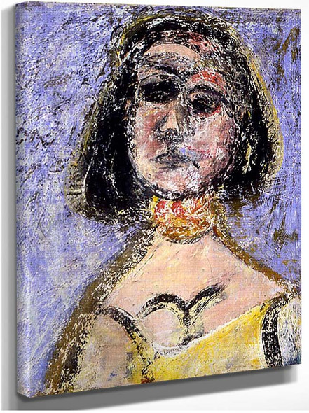 Woman With Necklace Marquette By Gorky Arshile