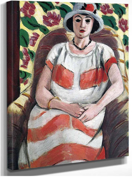 Young Woman In Pink 1923 By Henri Matisse