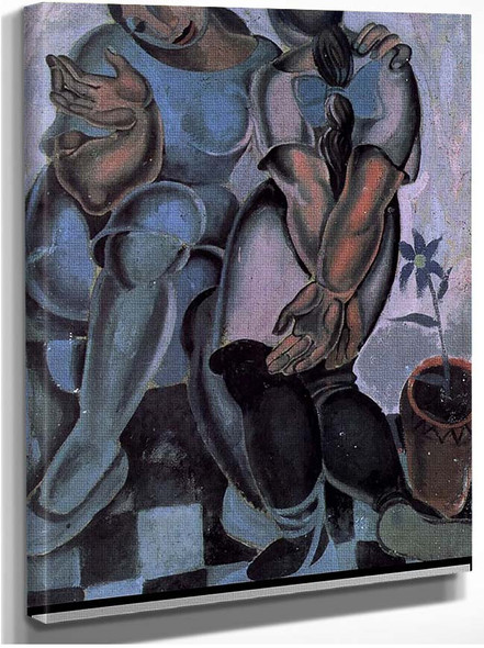 Young Women By Salvador Dali