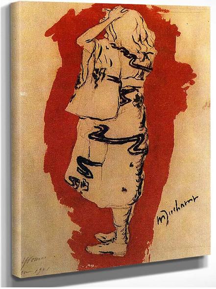 Yvonne In Kimono 1901 By Duchamp Marcel