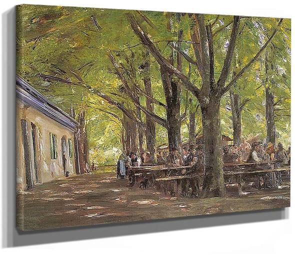A Country Brasserie Brannenburg Bavaria 1894 By Max Liebermann