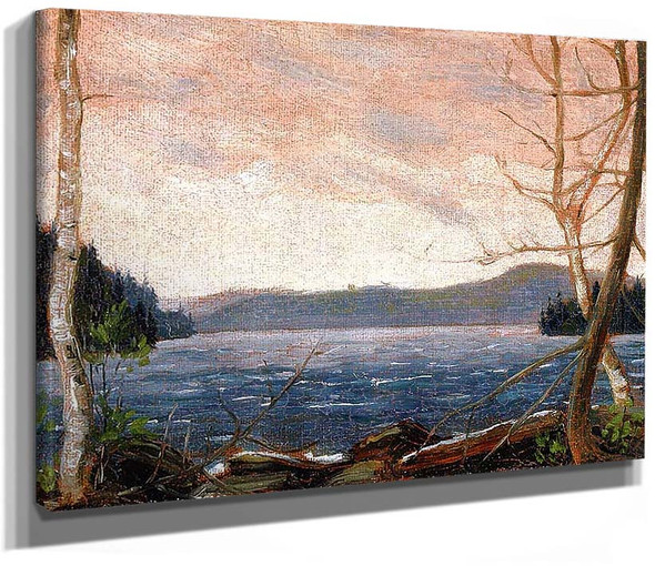 A Northern Lake By Tom Thomson