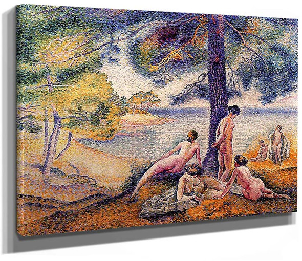 A Place In The Shade By Henri Edmond Cross