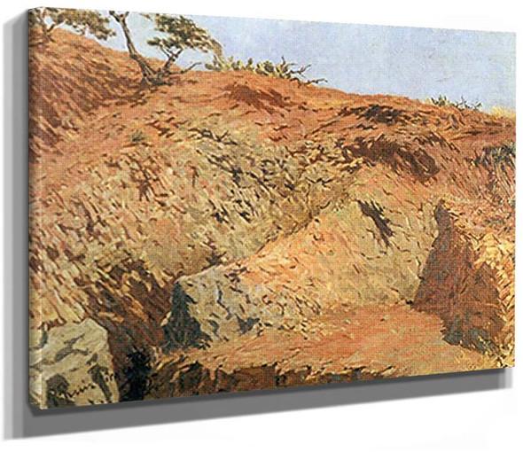 A Quarry By Pablo Picasso