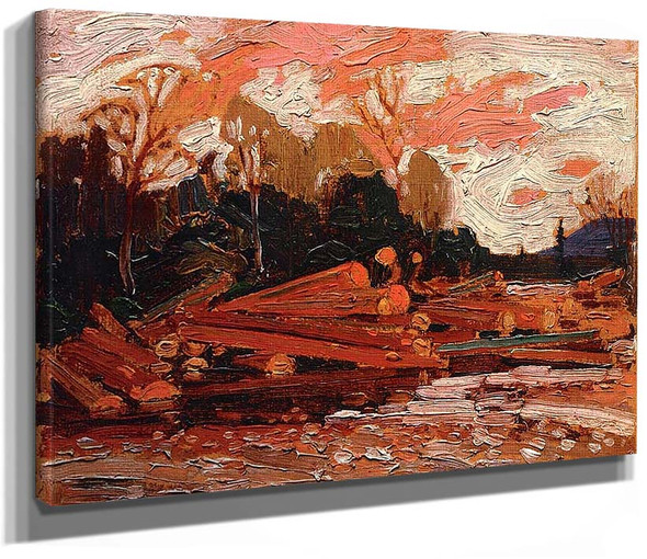 Abandoned Logs By Tom Thomson