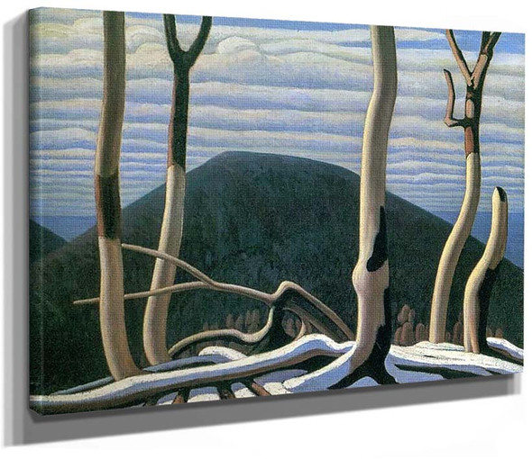 Above Lake Superior By Lawren Harris