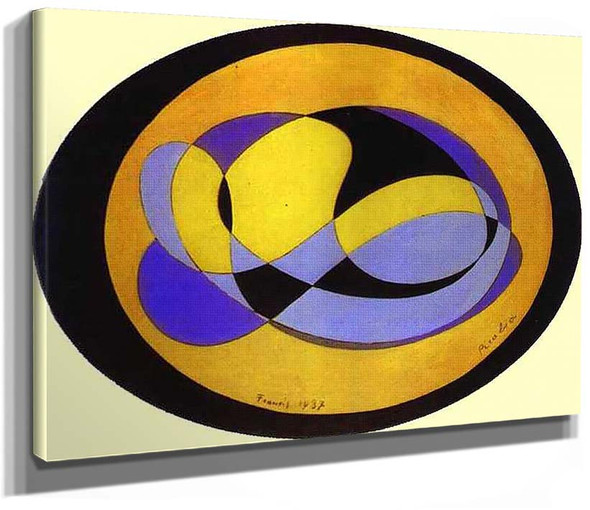 Abstract Composition 1 By Francis Picabia