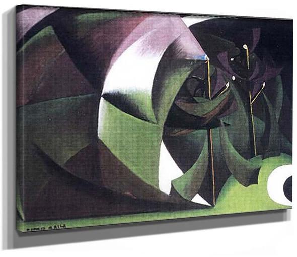 Alberi Mutilati 1918 By Giacomo Balla