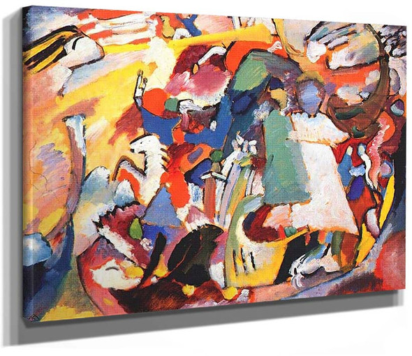 Angel Of The Last Judgment 1911 By Wassily Kandinsky