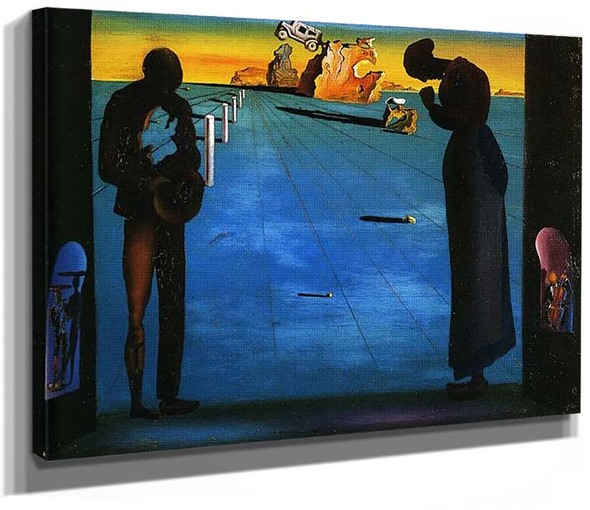 Angelus By Salvador Dali