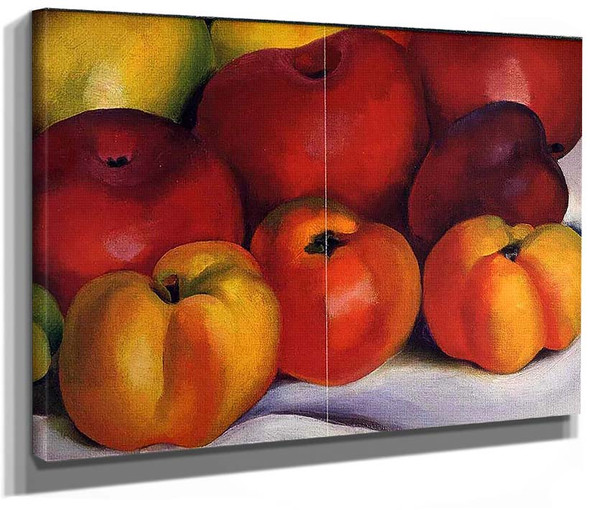 Apple Family By Georgia O Keeffe