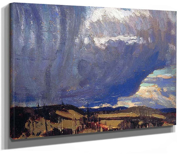 Approaching Snowstorm By Tom Thomson