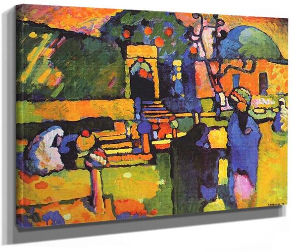 Arabs I Cemetery 1909 By Wassily Kandinsky