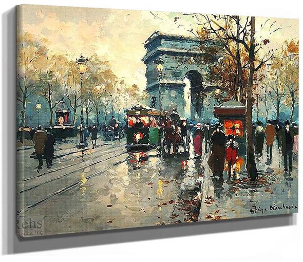 Arc De Triomphe 2 By Antoine Blanchard