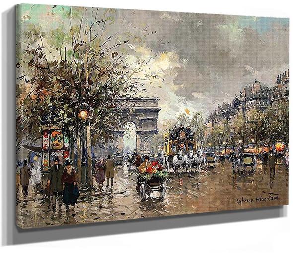 Arc De Triomphe By Antoine Blanchard