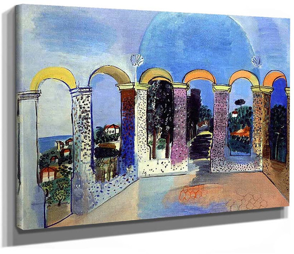 Arcades At Vallauris 1927 By Dufy Raoul