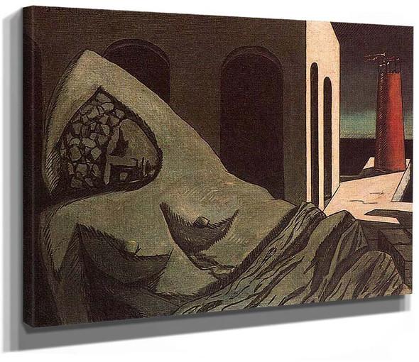 Ariana The Silent Statue 1913 By Giorgio De Chirico