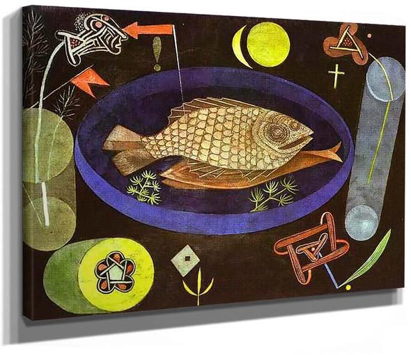Aroundfish 1926 By Paul Klee