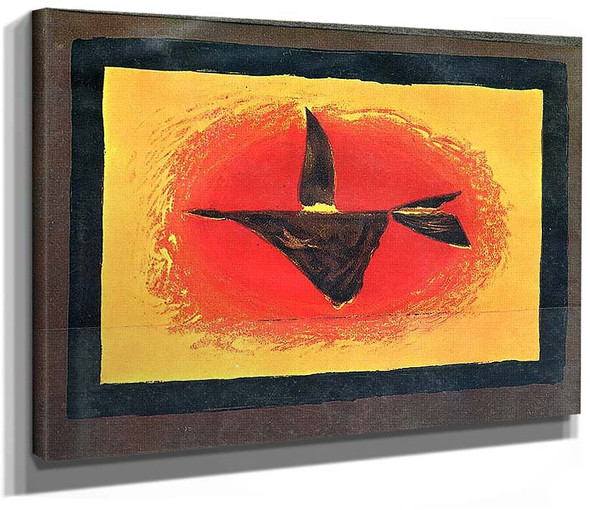 At Sunset Bird Xvi 1958 By Georges Braque