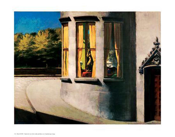 August In The City By Edward Hopper