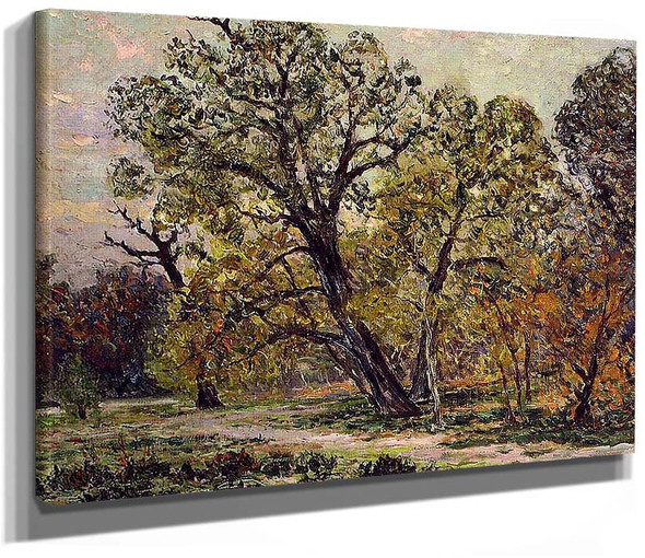 Autumn Fontainebleau Forest By Maxime Maufra