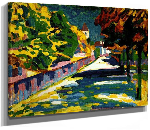 Autumn In Bavaria 1908 By Wassily Kandinsky