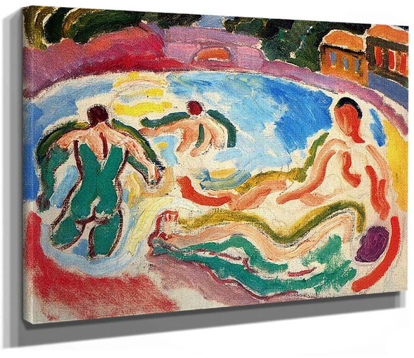 Bathers 1908 By Dufy Raoul