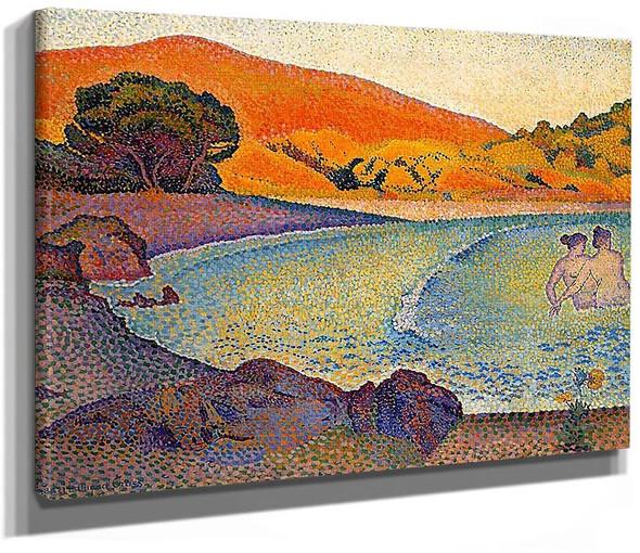 Bathers3 By Henri Edmond Cross