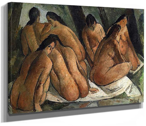 Bathers By Andre Derain