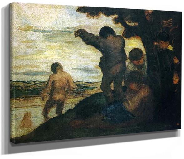 Bathers By Kazimir Malevich