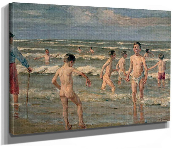Bathing Boys 1900 By Max Liebermann