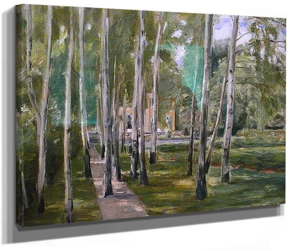 Birch Grow 1 By Max Liebermann