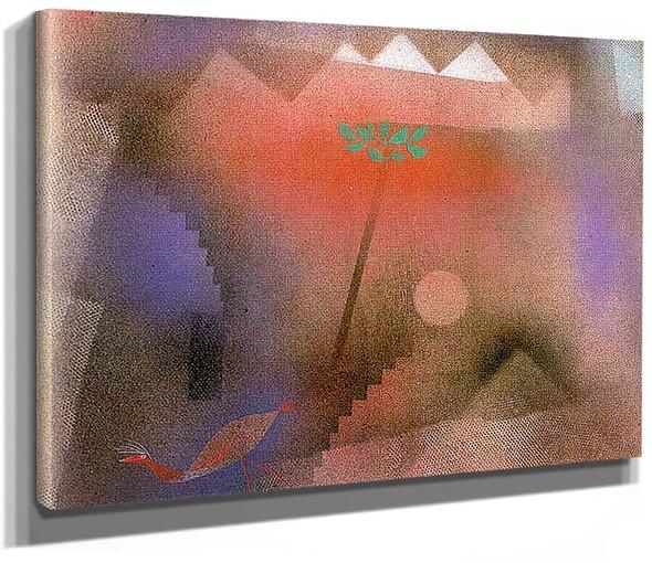 Bird Wandering Off 1921 By Paul Klee