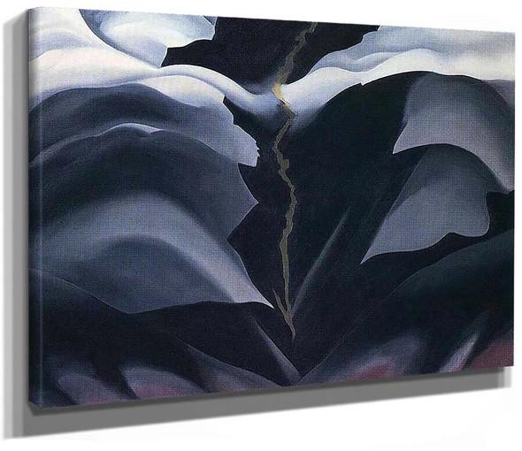 Black Place Ii By Georgia O Keeffe