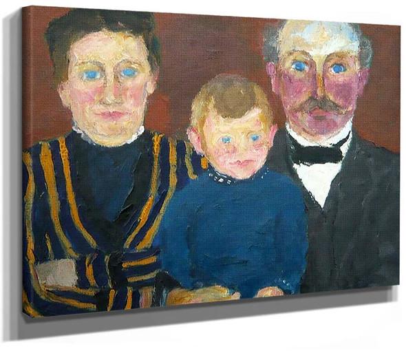 Bonnichsen Family 1915 By Emil Nolde