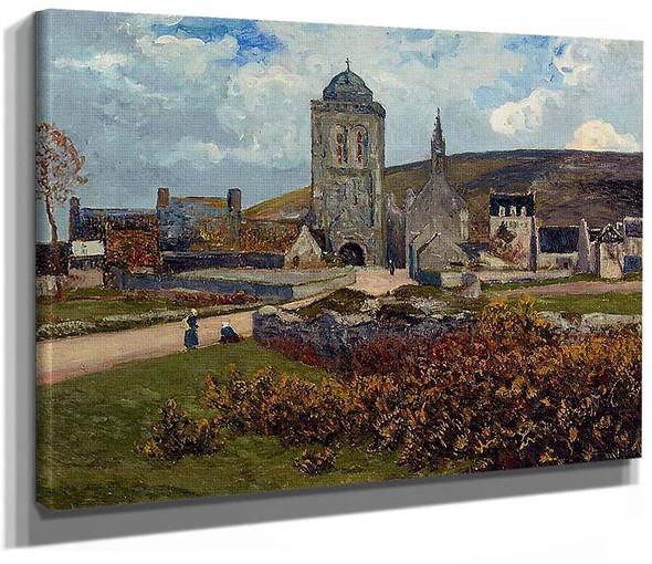 Breton Landscape By Maxime Maufra