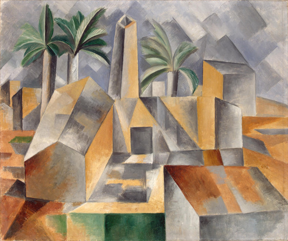 Brick Factory In Tortosa2 By Pablo Picasso