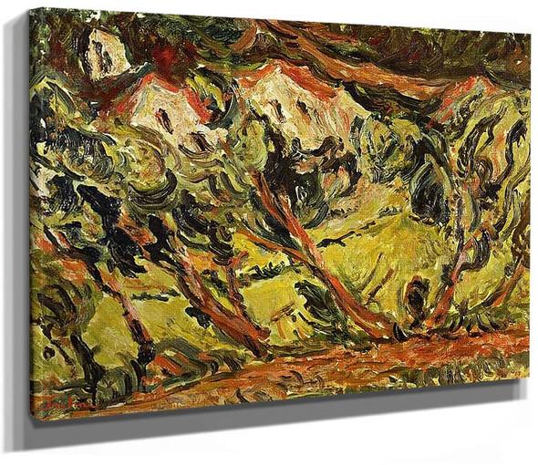 Ceret Landscape 1 By Chaim Soutine