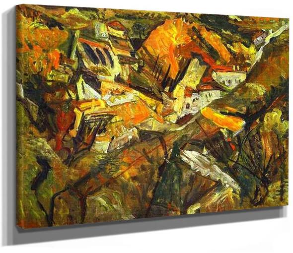 Ceret Landscape By Chaim Soutine