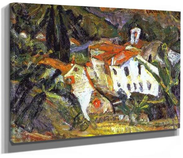 Ceret Lanscape By Chaim Soutine