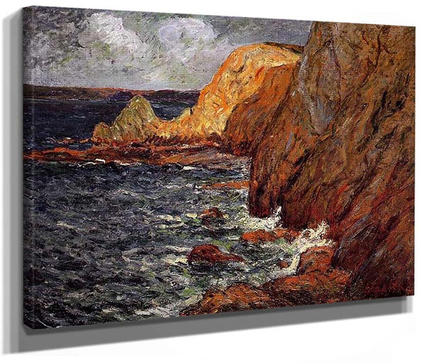 Cliffs By Maxime Maufra