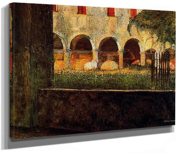 Cloister Of S Onofrio 1904 By Umberto Boccioni