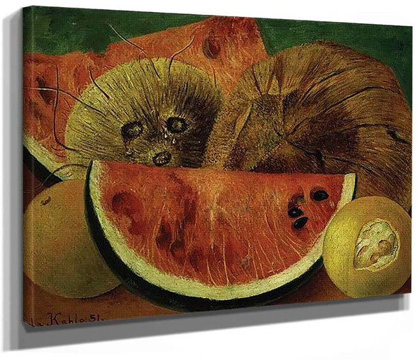 Coconuts 1951 By Frida Kahlo