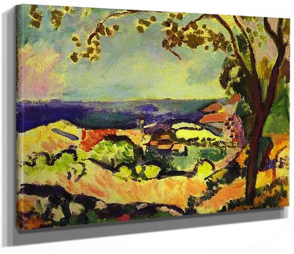 Collioure Landscape 1906 By Henri Matisse