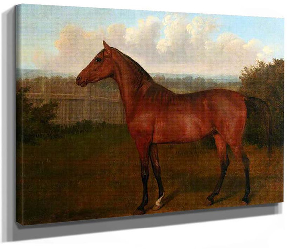 Colt Of Mare And Arab Horse By Jacques Laurent Agasse